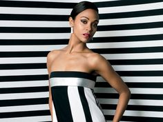 She's perfect!: Zoe Saldana told the December issue of Ocean Drive magazine some wondered if she was black enough to play jazz musician Nina Simone in the upcoming bio film Nina Shes Perfect, Nina Simone, Ocean Drive, Celebs, Celebrities, Gq, Fashion Beauty, Strapless Dress, Hollywood