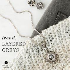 jewelry photo styling, flat lay and fashion grey trend