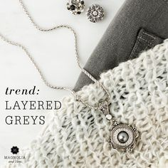 jewelry photo styling, flat lay and fashion grey trend