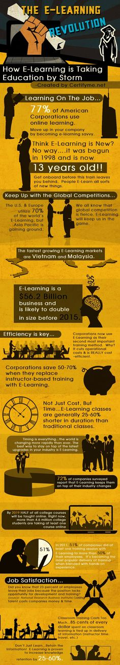 Important Statistics about the eLearning Market for 2013 - Infographic