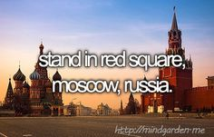 Stand in Red Square, Moscow, Russia.