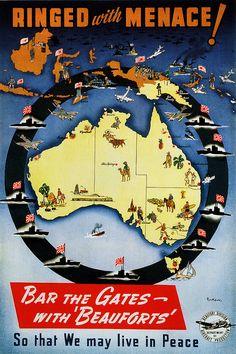 Australian poster from WW2.