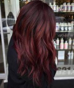 Image result for burgundy hair