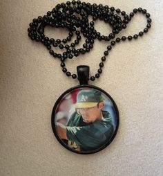 Oakland A's Eric Sogard Necklace by QUEENBEADER on Etsy, $16.25