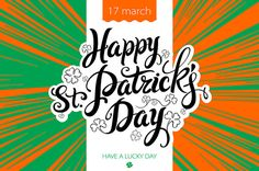 lettering Patricks Day Ireland flag by Rommeo79 on Creative Market