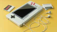 Game Boy Concept with Vintage Elements