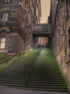 Warristons Close, Edinburgh, Scotland...