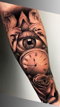 80 Fotos de tatuagens masculinas no braço | TopTatuagens