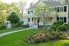 Yellow Houses Design Ideas, Pictures, Remodel and Decor