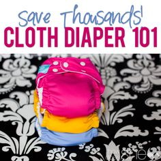 Cristi shows you how you can save thousands of dollars on diapering by using cloth diapers. Cloth diapers have come a long way and she is here to show you how!