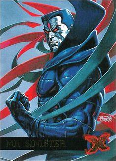 Mr. Sinister ('95 Fleer Ultra X-Men)