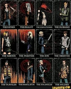 the protagonists from konami 39 s 39 silent hill 39 series of video games games pinterest. Black Bedroom Furniture Sets. Home Design Ideas