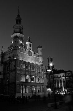 Poland. Poznan, Town Hall.