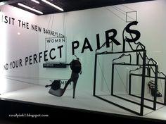 Barney's, New York Shoe Display, Display Design, Retail Windows, Shop Windows, Window Shopper, Fashion Displays, Shop Window Displays, Retail Space, Window Design