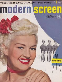 SEPT 1949 --- MODERN SCREEN vintage movie collectors magazine - BETTY GRABLE in Books | eBay