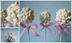 Miss Blueberrymuffin's kitchen: Marshmallow-Vanille-Pops (Tchibo Cake-Pop-Maker im Test)