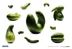 Tramontina : Cucumber | #ads #marketing #creative #werbung #print #advertising #campaign < repinned by www.BlickeDeeler.de | Follow us on www.facebook.com/BlickeDeeler