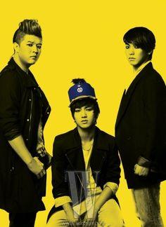 Super Junior - W Magazine June Issue '10 --- shin dong, yesung, sungmin