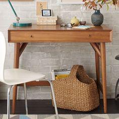 Mid-Century Mini Desk – Acorn   west elm