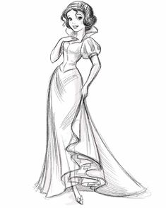 Kunst A New Way to Battle Fatigue About of adults experience excessive fatigue t Disney Princess Sketches, Princess Cartoon, Disney Sketches, Disney Drawings, Arte Disney, Disney Art, Croquis Disney, Snow White Drawing, Snow White Apple