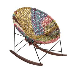 Image of Hand-Woven Rocker