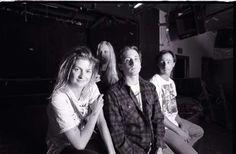 The Gits; Members included singer Mia Zapata, guitarist Joe Spleen (born Andy Kessler), bassist Matt Dresdner and drummer Steve Moriarty.