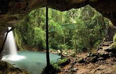 "Such a beautiful ""hidden"" place on the Sunshine Coast, Queensland ! Very close to MOM! Hidden Places, Oh The Places You'll Go, Places To Travel, Places To Visit, Noosa Australia, Australia Travel, Australia Holidays, Rainforests, Great Hotel"