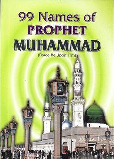 99 Names of Prophet Muhammad, Arabic-English, Paper Back, Pocket Edition