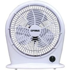 "OPTIMUS F-1030 10"""" Stylish Personal Fan"