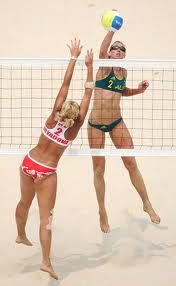 Beach Volleyball- hell yes!