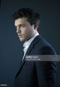 Actor Alden Ehrenreich is photographed for the Observer on January 16, 2013 in London, England.