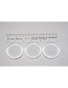 Fermentation glass Jar Weights 3 pack to fit a wide mouth quart jar)