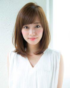 Un ami 松井 幸裕 ( Kawaii Hairstyles, Hairstyles Haircuts, Medium Hair Styles, Short Hair Styles, Hair Flip, Layered Hair, Short Hairstyles For Women, Short Hair Cuts, New Hair