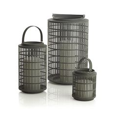 Cambria Lanterns from Crate and Barrel