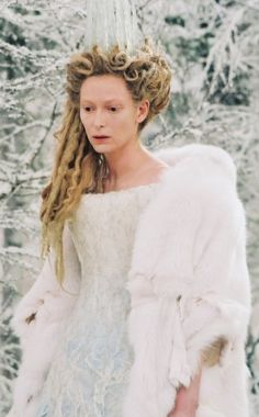 This is going to sound strange but I loved the white witch's wardrobe and makeup throughout this entire movie. It was very icy and cool(duh cause it was kind of winter)