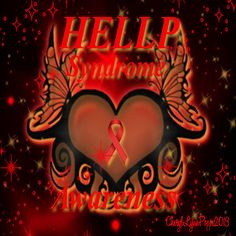 HELLP Syndrome Awareness Heart