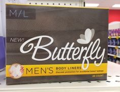 Because men and women have different bums? (thanks Catharine M!)