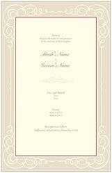 Invitations & Announcements border classic