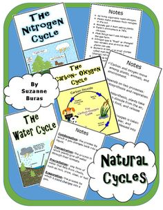 Cycles of matter foldable cycling biomes and teaching ideas natural cycles ccuart Gallery
