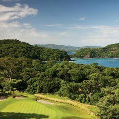 Arnold Palmer designed golf course Peninsula Papagayo Costa Rica