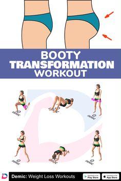 All Body Workout, Summer Body Workouts, Gym Workout Videos, Gym Workout For Beginners, Butt Workout, Gym Workouts, At Home Workouts, Fitness Workout For Women, Sculpter Son Corps