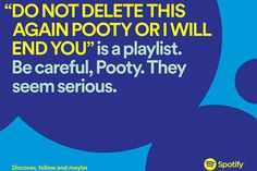 Spotify's Latest Witty Ads Have Great Fun With Users' Playlist Names - Print (Slideshow) - Creativity Online