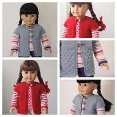 Karen Mom of Three's Craft Blog: 3 Etsy Fun Short Sleeve Knit Patterns For Dolls For Spring!