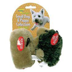Booda Hedgehog/Hotdog Dog Toy 2 Pack - Small -Puppy - 0860-9349