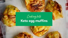 It's Friday and time for another keto cooking video! Today we're making keto egg muffins – delicious, savory egg muffins are convenient, easy to make, and pe. Casserole Spaghetti, Keto Egg Muffins, Crockpot, Recipes Breakfast Video, Savory Breakfast, Comfort Food, Ketogenic Recipes, Ketogenic Diet, Egg Recipes
