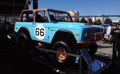 Galpin Auto Sports 1966 Ford Bronco as seen at SEMA 2012