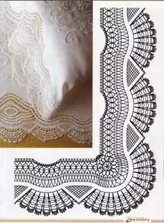 Archivo de álbumes Bobbin Lace Patterns, Crochet Patterns, Bobbin Lacemaking, Hairpin Lace, Crochet Borders, Needle Lace, Heirloom Sewing, Lace Making, Simple Art