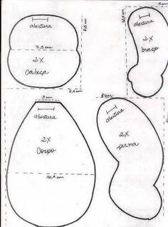 Steiner doll pattern
