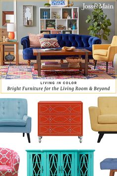 Create a comfortable relaxation space with stylish furniture for the living room! Shop sofas, chairs & more at jossandmain.com. Sign up to learn more about our exclusive deals, and don't forget – free shipping for all orders over $49!