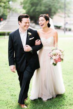 Black tie wedding with BHLDN gown http://ajdunlap.com/cora-jay-glass-box-nc-intimate-wedding/